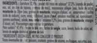 Poulet rôti moutarde à l'ancienne - Ingrediënten