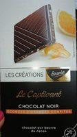 Le Captivant Chocolat noir écorces d'orange confites - Product - fr
