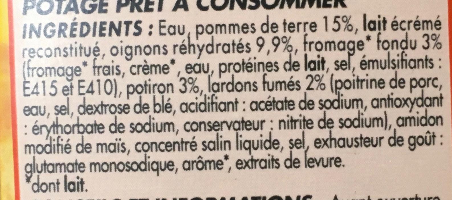 Soupe Savoyarde - Ingredients