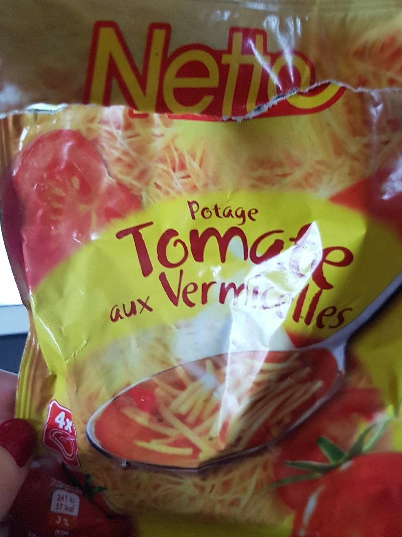 Netto Potage Tomate Aux vermicelles72g - Product