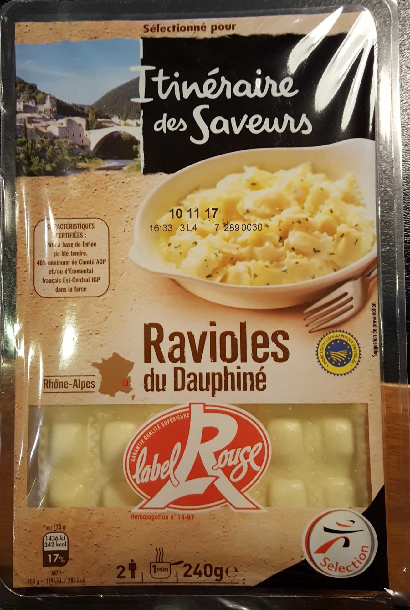 Ravioles du Dauphiné IGP label Rouge - Product