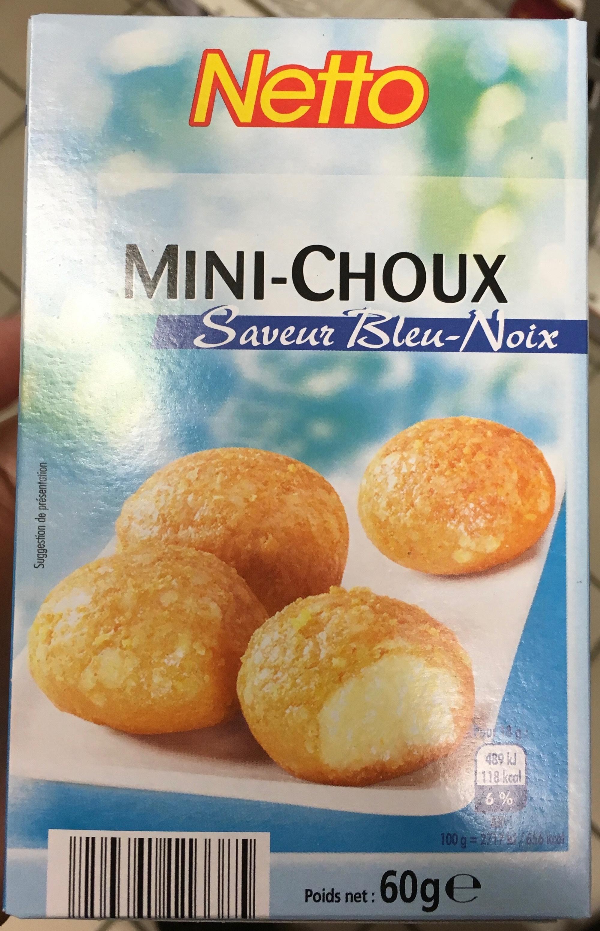 Mini-Choux saveur Bleu-Noix - Product - fr