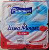 Lissea mousse fraise 4x100g pâturages - Produit