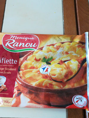 Tartiflette Reblochon, emmental et lardons fumes - Produit - fr
