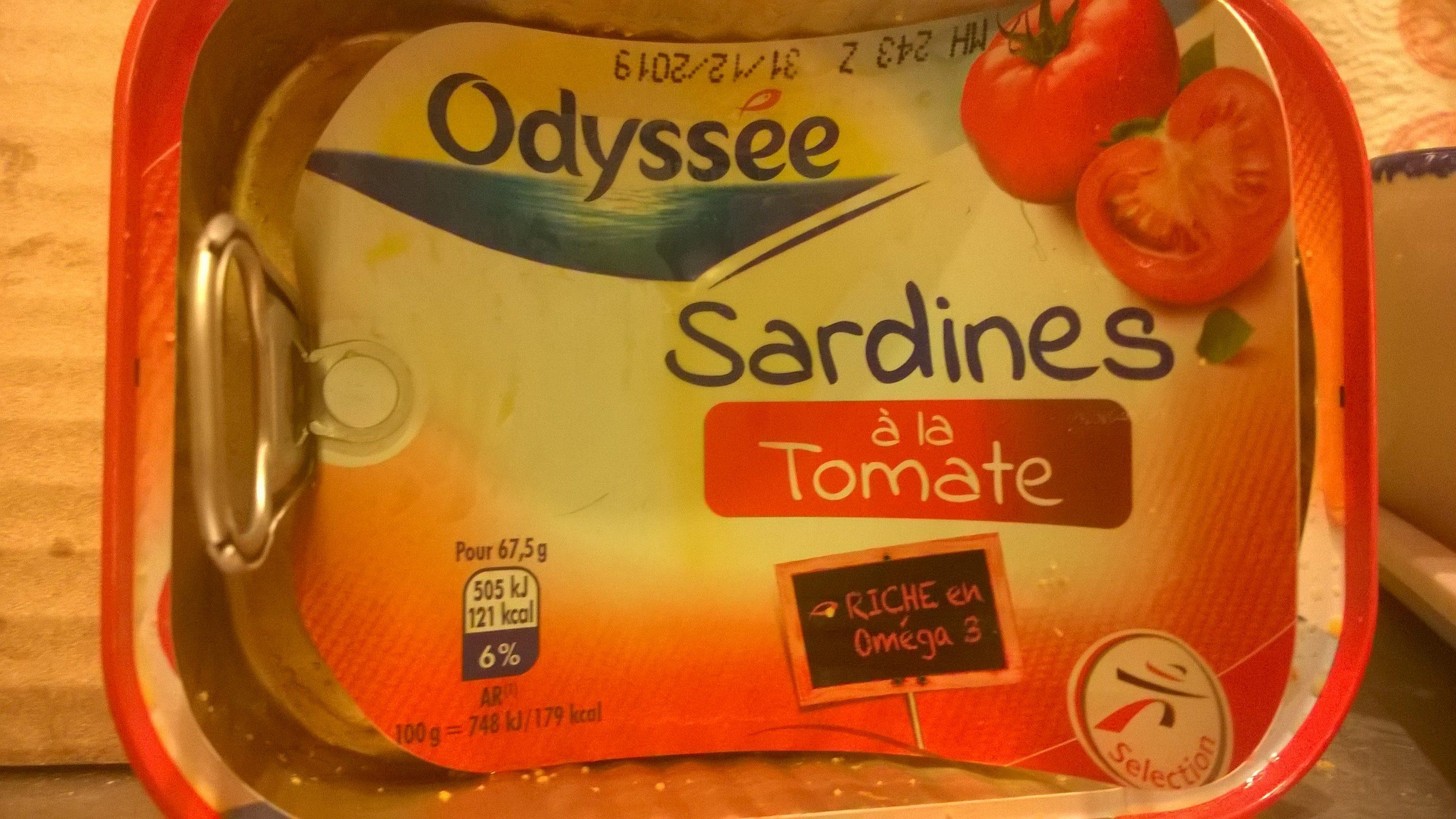 Sardines à la Tomate - Product - fr
