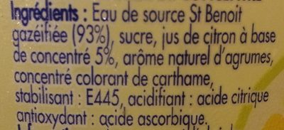 Look fun avec jus de citron - Ingrédients - fr
