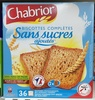 Biscottes complètes Sans sucres ajoutés - Product
