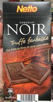 Chocolat noir fourré Truffe aux éclats de fèves de cacao - Product