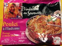 Poulet Indienne-Intermarché - Product