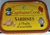Sardines à l'huile d'arachide - Product
