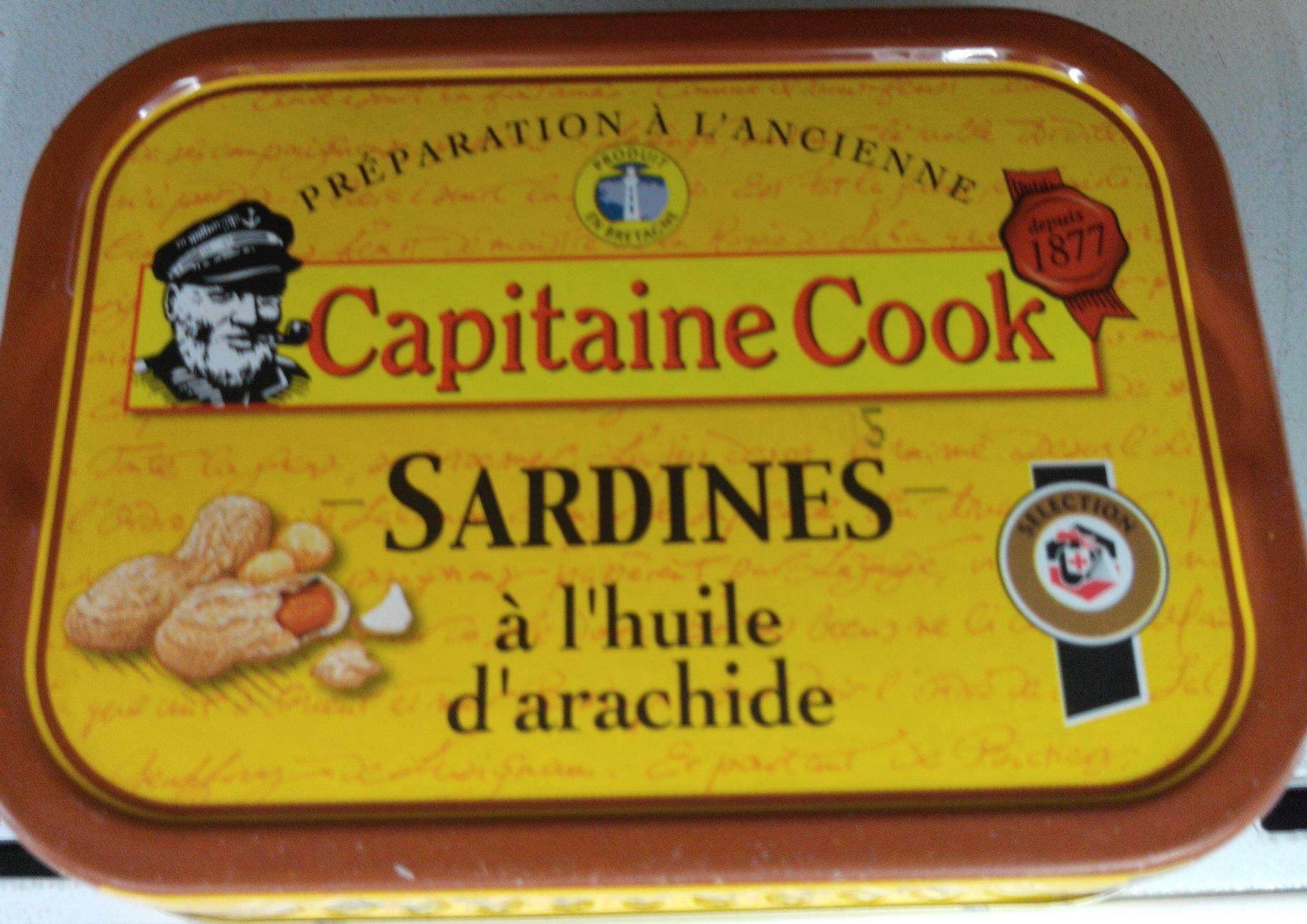 Sardines à l'huile d'arachide - Produit - fr