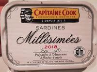 Sardines millésimées à l'huile d'olive vierge extra - Produit