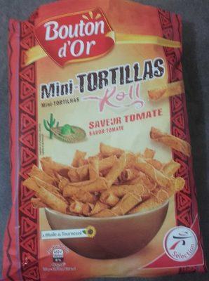 Mini tortillas saveur tomate - Produit