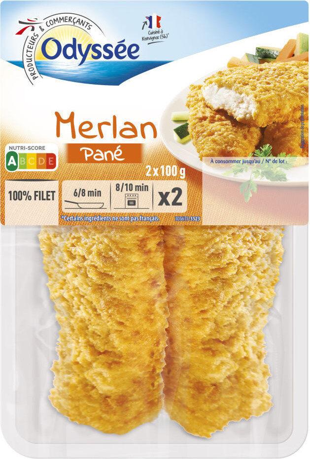 Merlan pané - Product - fr