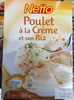 Poulet à la Crème et son Riz - Produit