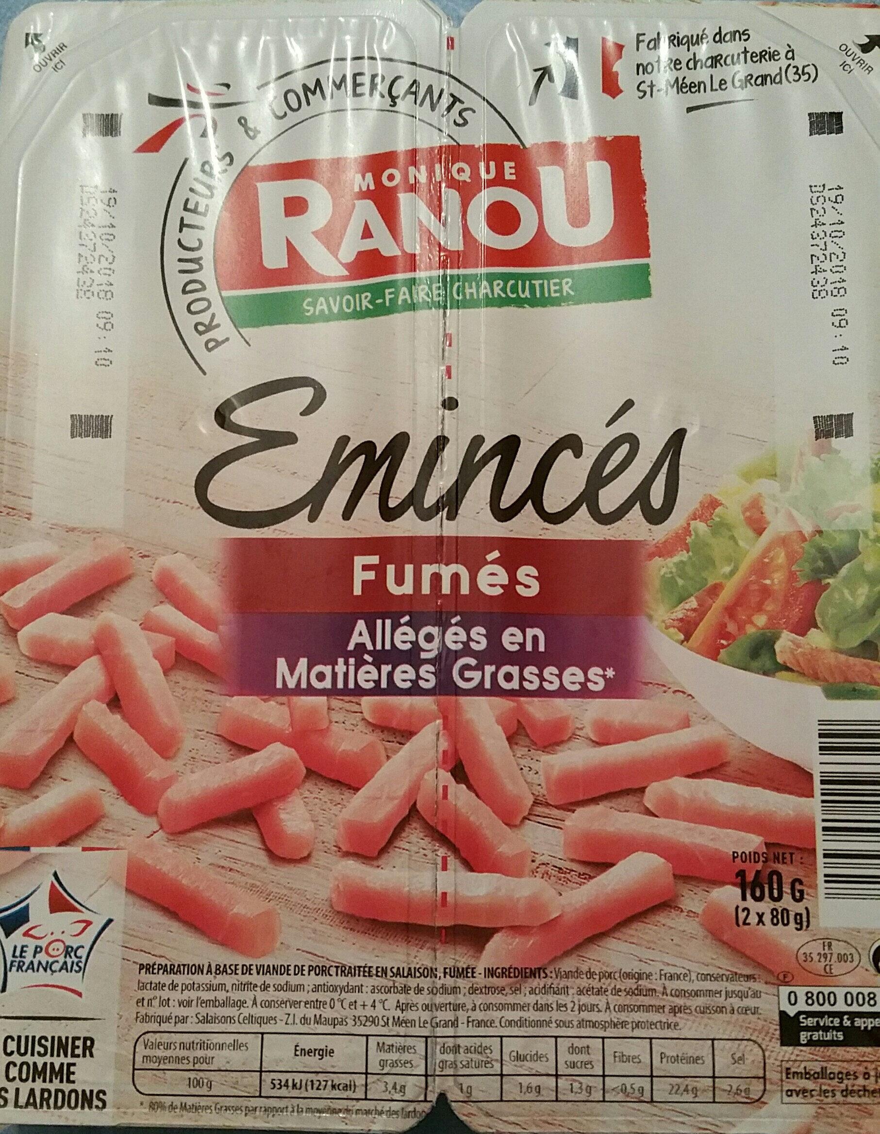 Émincés fumés allégés en matières grasses - Product - fr