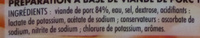 Émincés fumés allégés en matières grasses - Ingredients - fr