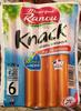 6 Knack, Au Jambon (50 % de MG en Moins) - Product
