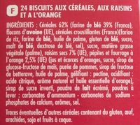 Petit dej matin gourmand - Ingrediënten - fr