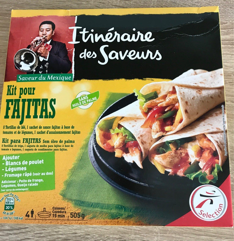 Kit pour fajitas - Informations nutritionnelles - fr
