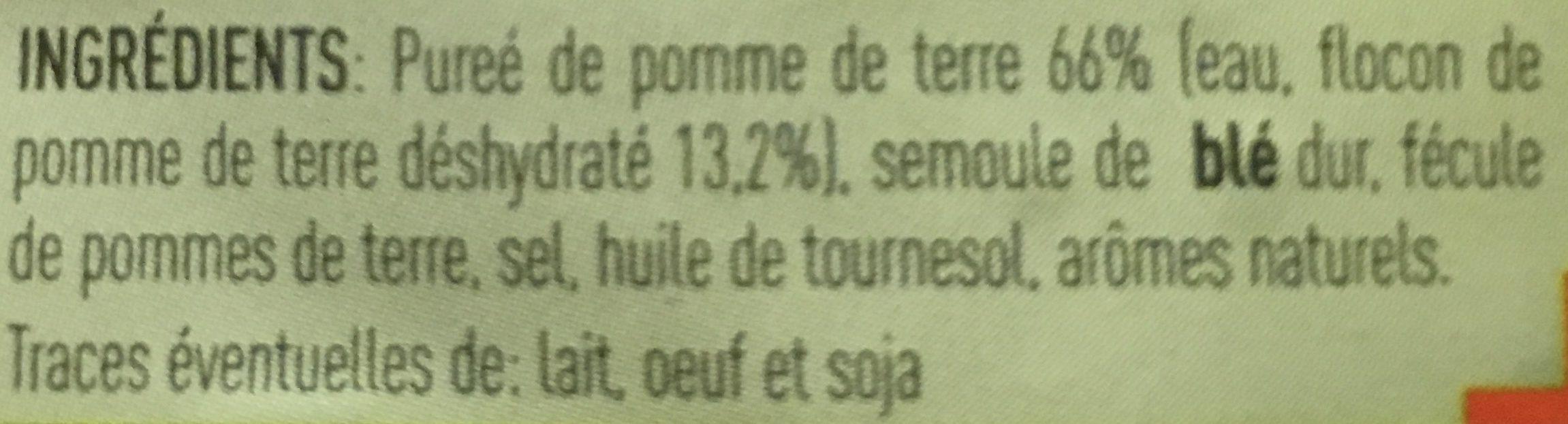 Gnocchi à Poêler - Ingredienti - fr