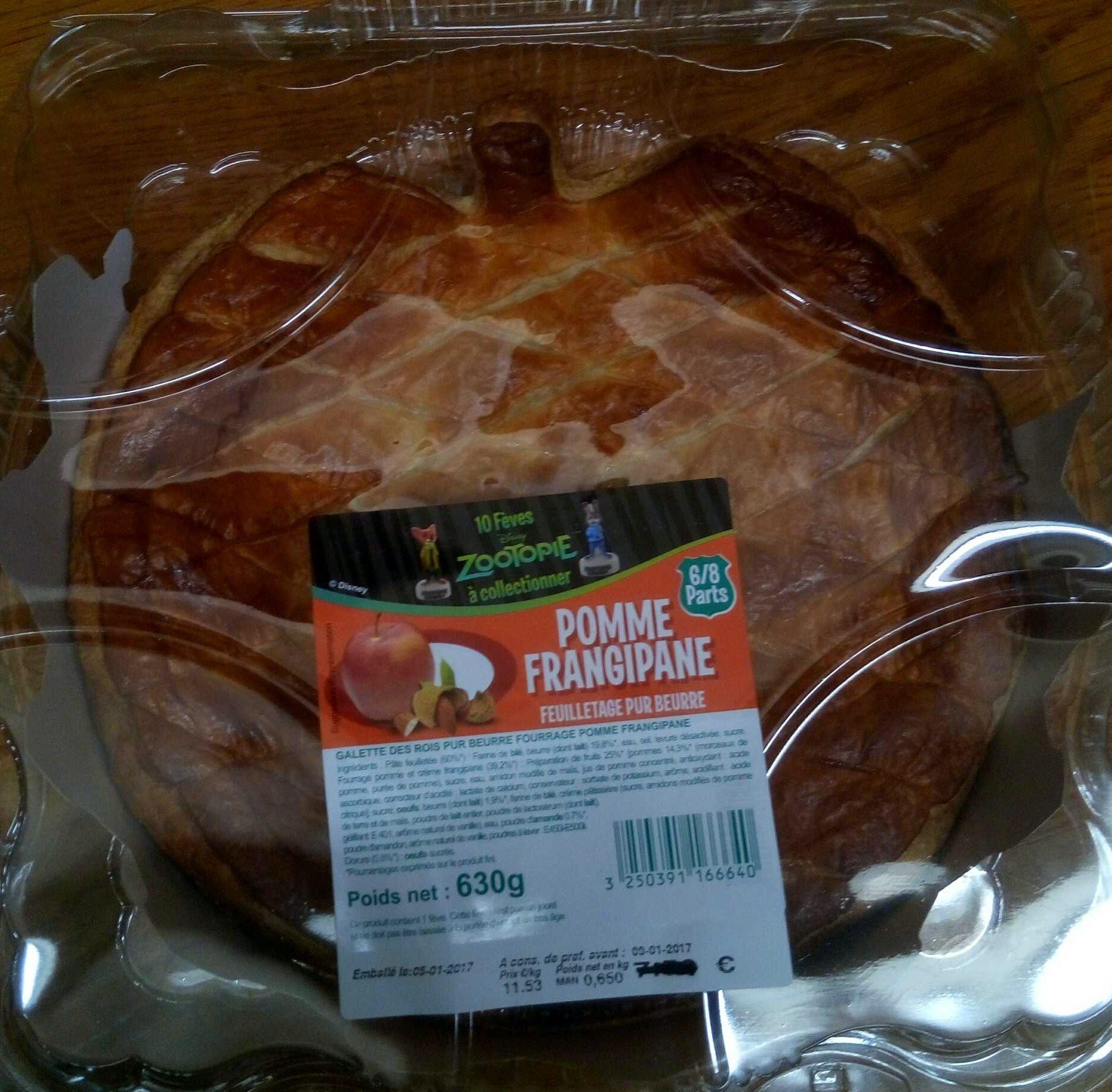 Galette des rois pomme frangipane - Product - fr