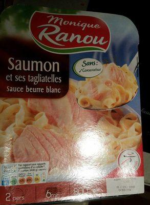 Saumon et ses tagliatelles sauce beurre blanc - Produit