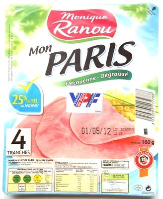 Mon Paris  - Jambon cuit de Paris - Produit - fr