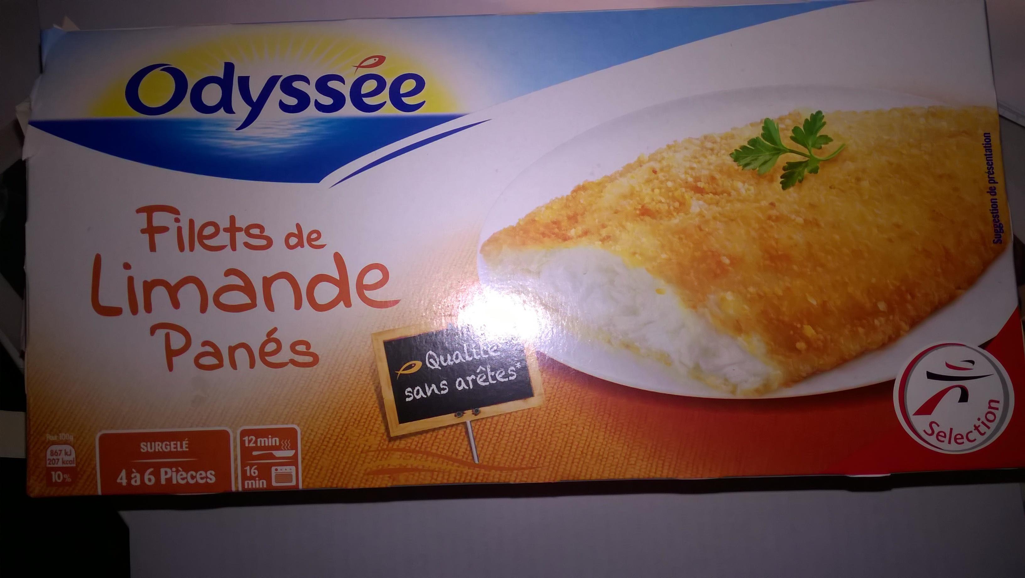 Filets Limande Panés - Product