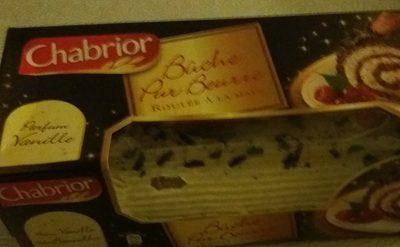 Bûche pur beurre parfum vanille - Product