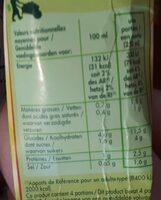 Potage St-eloi Légumes / Emmental - Nutrition facts