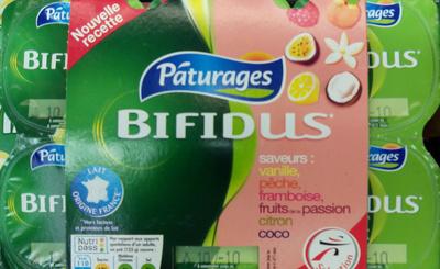 Bifidus aromatisés Paturages - Product - fr