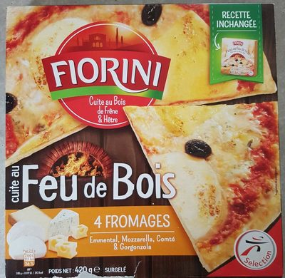 Pizza au Feu de Bois 4 Fromages - Product