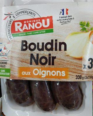 Boudin noir aux oignons - Produit
