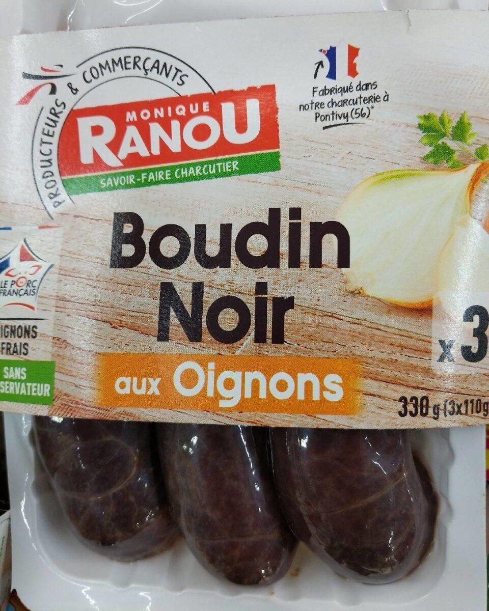 Boudin noir aux oignons - Product - fr