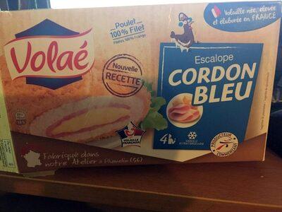 Cordons Bleus Cuit x 4 - Produit