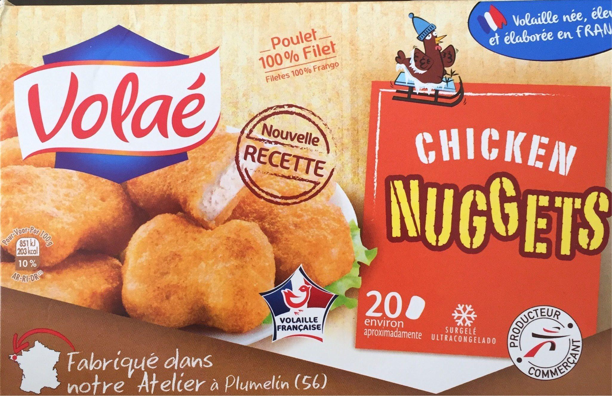 Nugget's de Poulet - Produit - fr