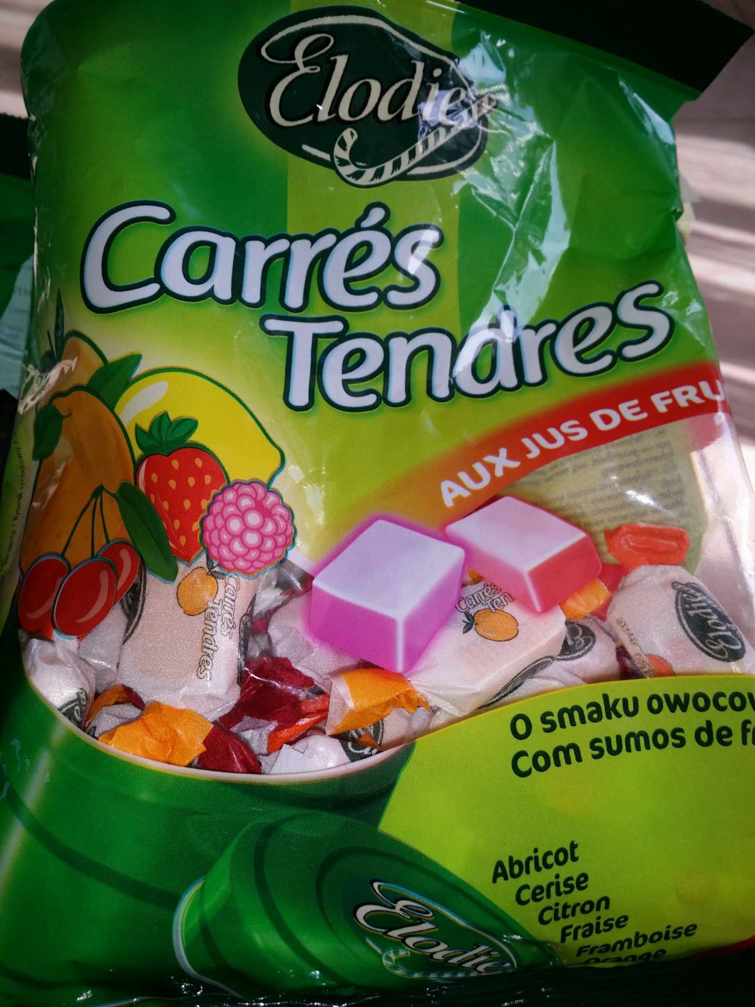 Carré Tendre aux Jus de Fruits - Product - fr