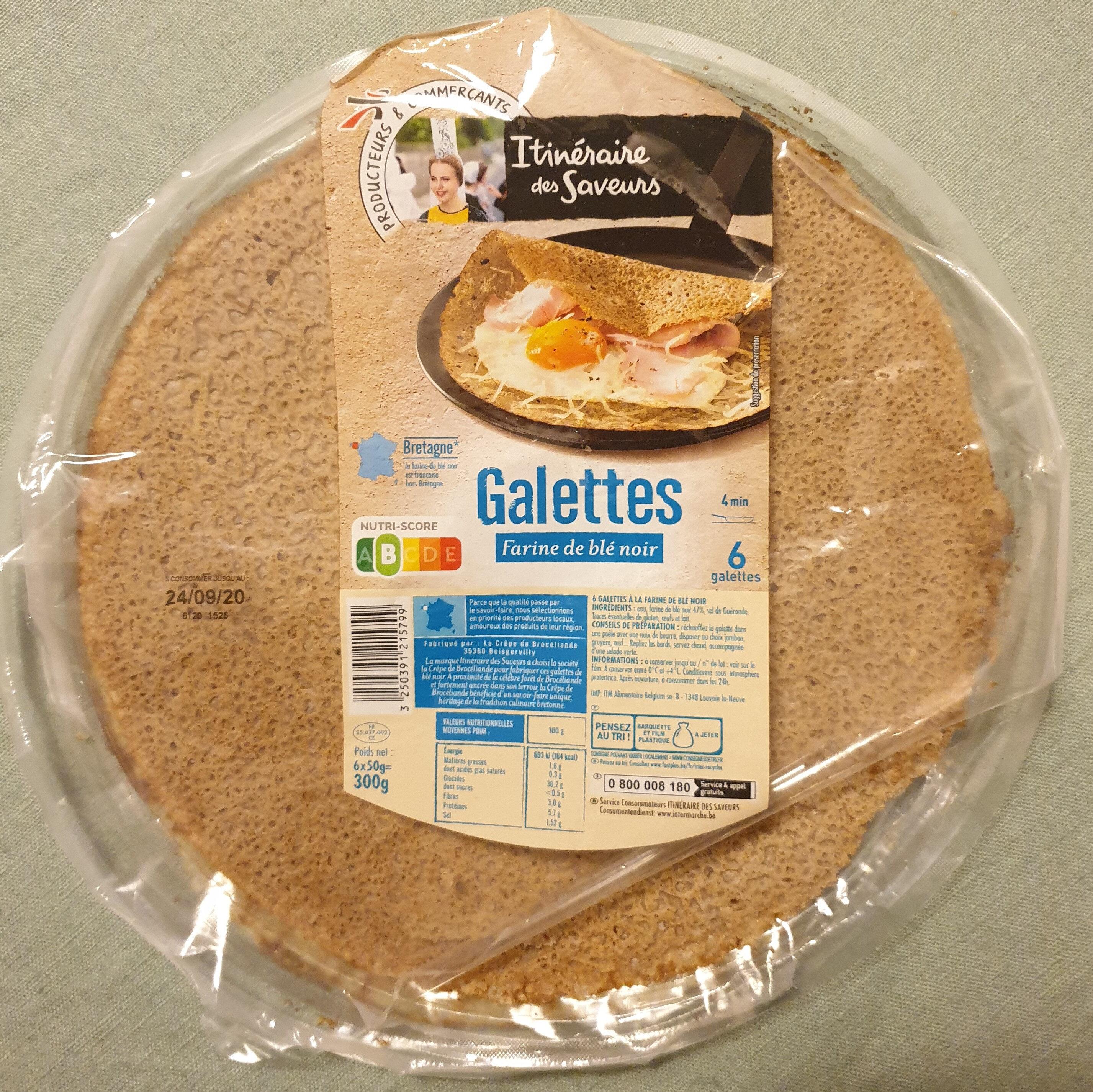 Galettes farine de blé noir - Product - fr