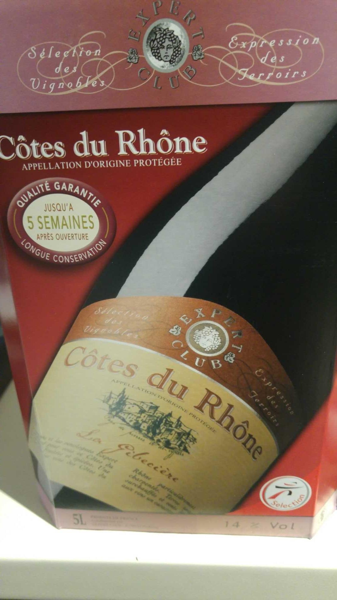 côte du Rhône - Produit - fr