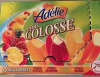 Adelie, Mini mix sorbets, les 8 mini sorbets de - Product - fr