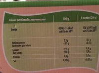 Adelie, Mini mix sorbets, les 8 mini sorbets de - Voedingswaarden - fr