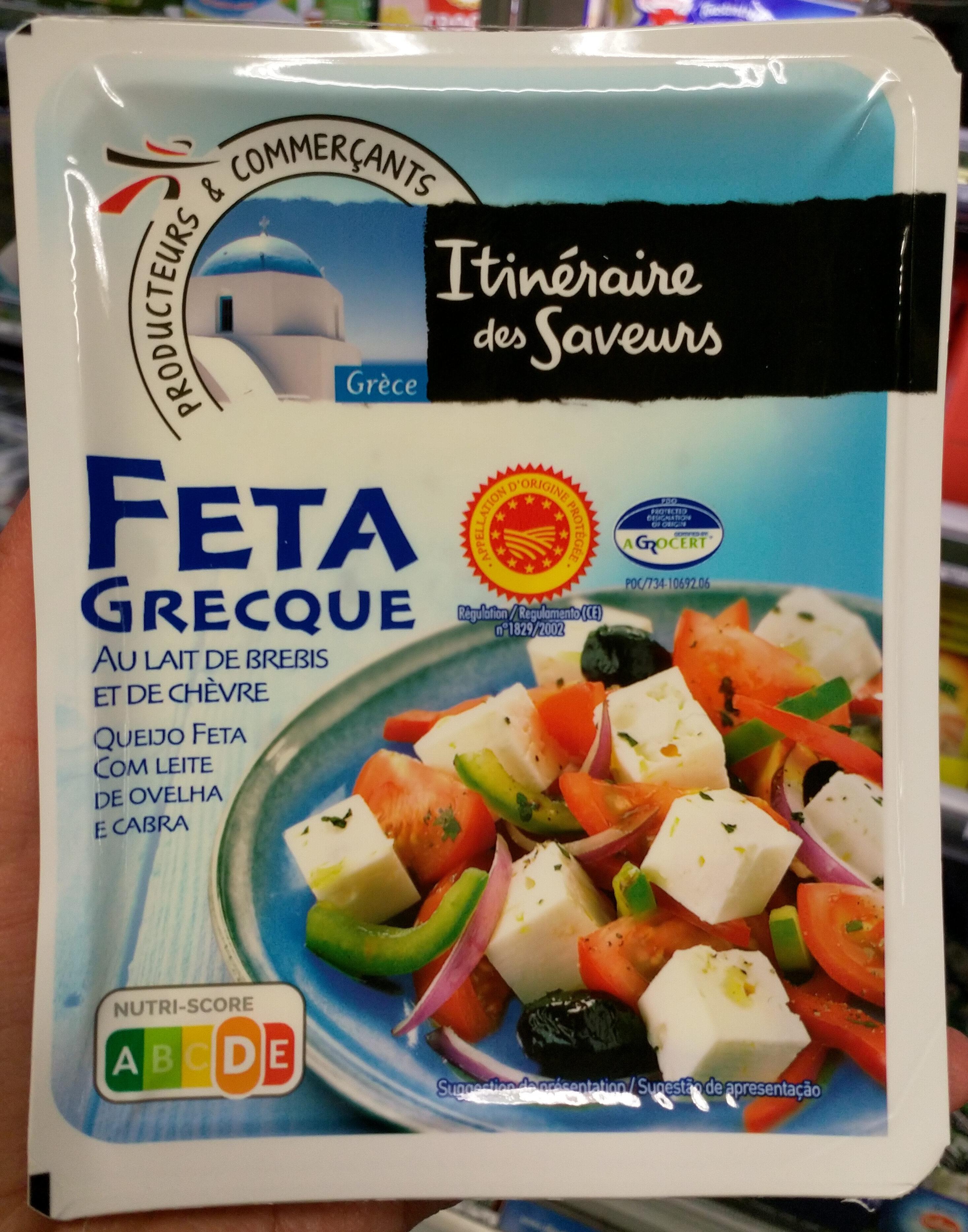 Feta grecque - Product - fr