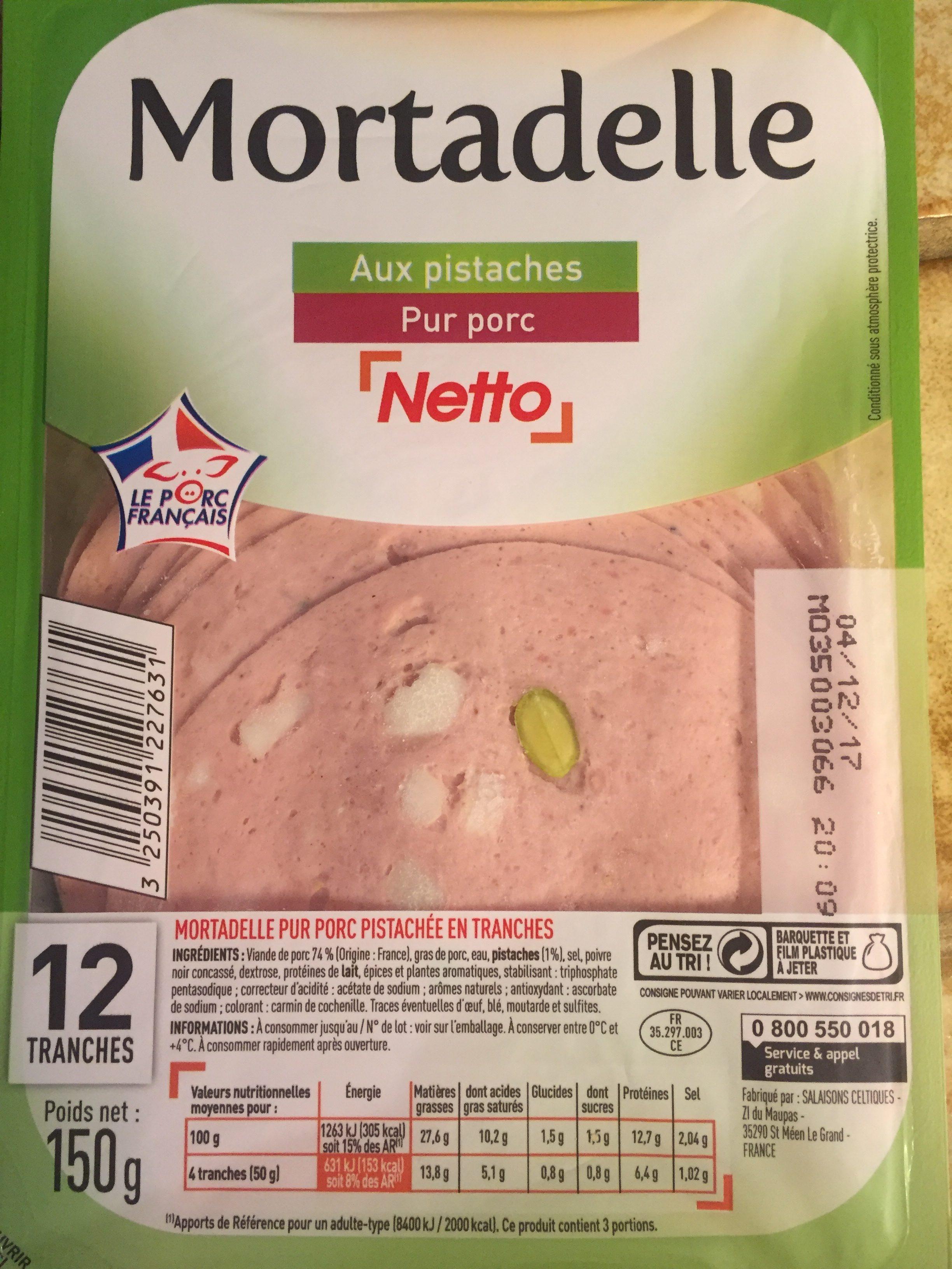 Mortadelle - Ingredients - fr