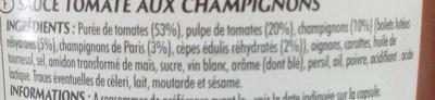 Champignons Bolets & Cèpes - Ingrediënten - fr
