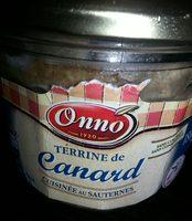 Terrine de canard cuisinée au Sauternes - Product - fr