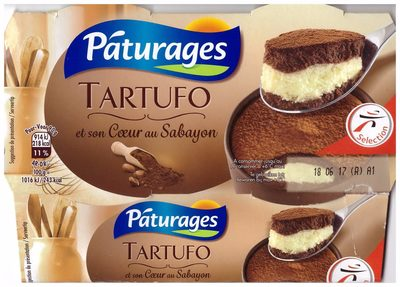 Tartufo - et son Coeur au Sabayon - Product