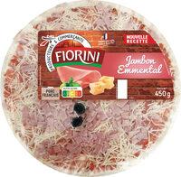 Pizza jambon emmental - Produit - fr