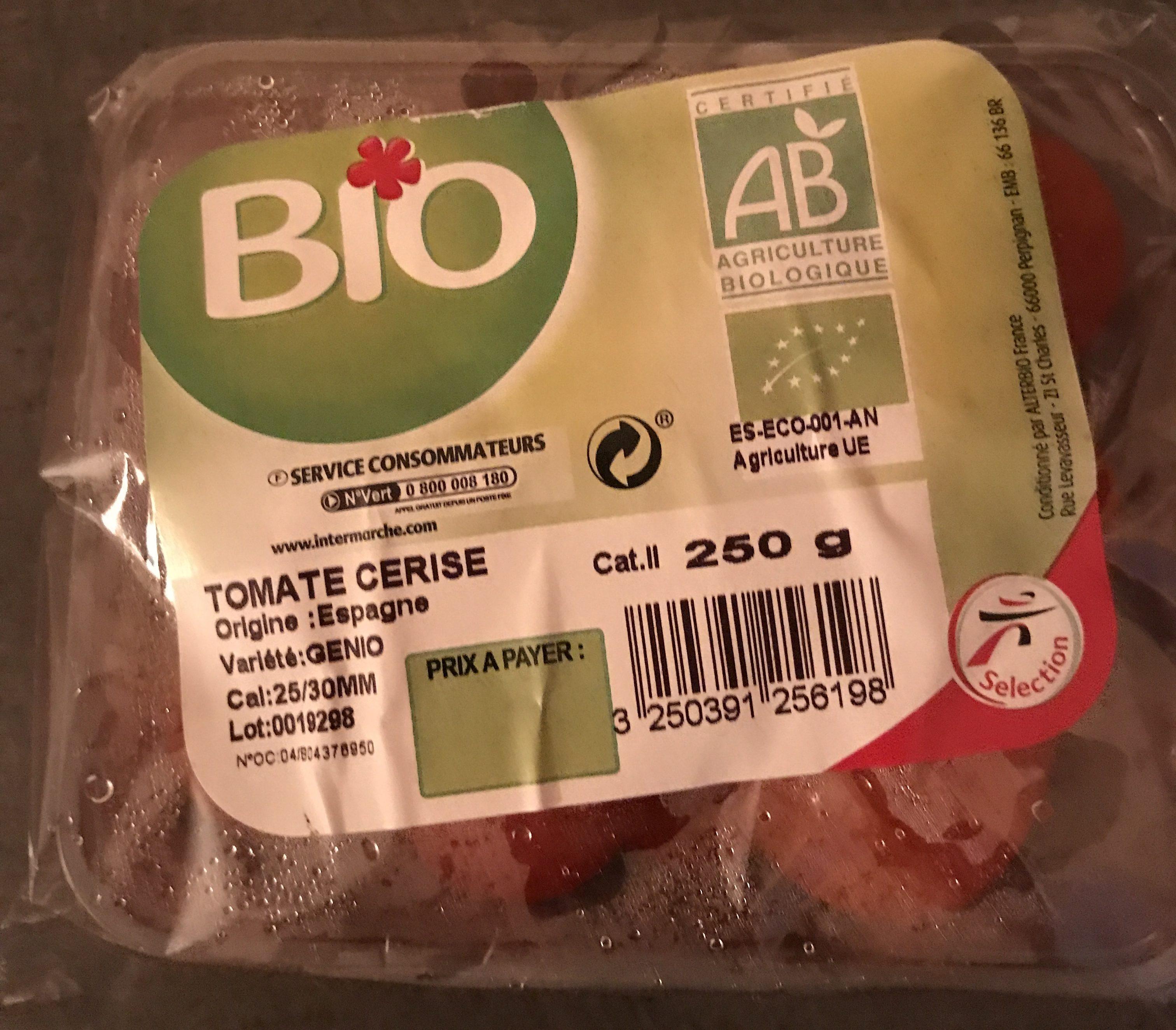Tomates Cerises Bio - Produit