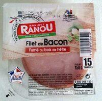 Filet de Bacon Fumé au bois de hêtre - Product - fr